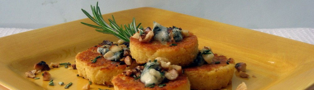 Gnocchi  with Gorgonzola, Walnuts and Rosemary 1