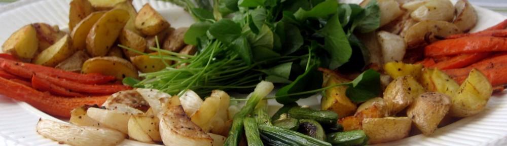 Warm Roasted Vegetable Salad 1