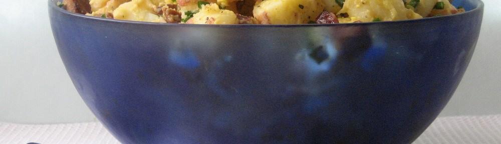 Potato Salad with Chorizo and Chives  1