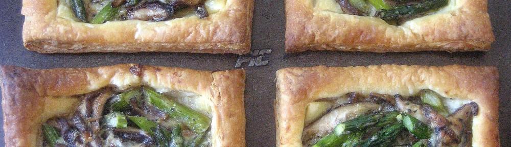 Asparagus and Mushroom Tarts 3