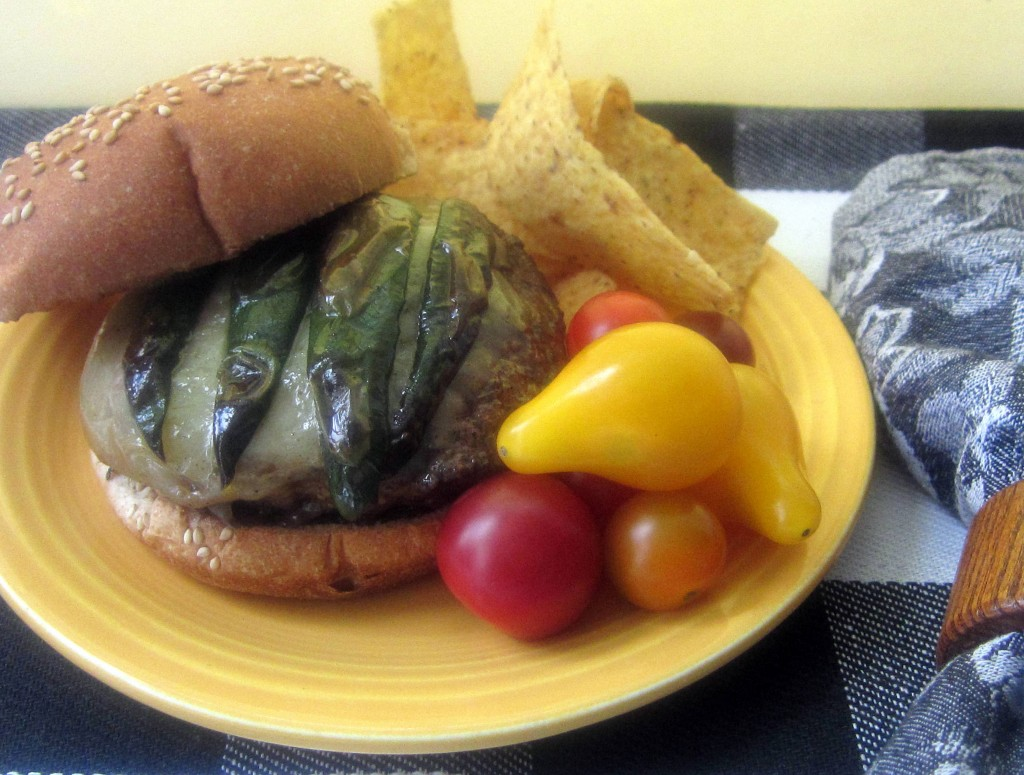 Cheeseburgers with Roasted Jalapenos 1