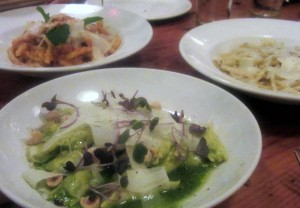 Three great pastas!