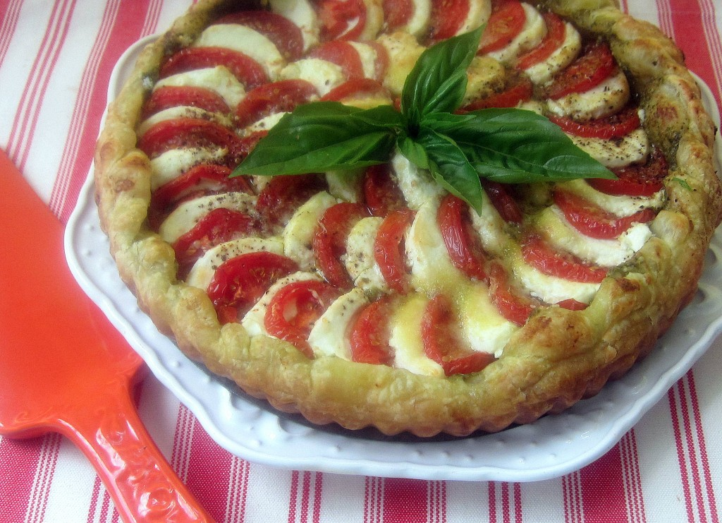 Tomato and Chevre Tart 2