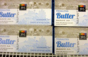 Whole Foods 365 Unsalted Butter