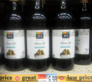 Whole Foods Extra Virgin Olive OIl 365