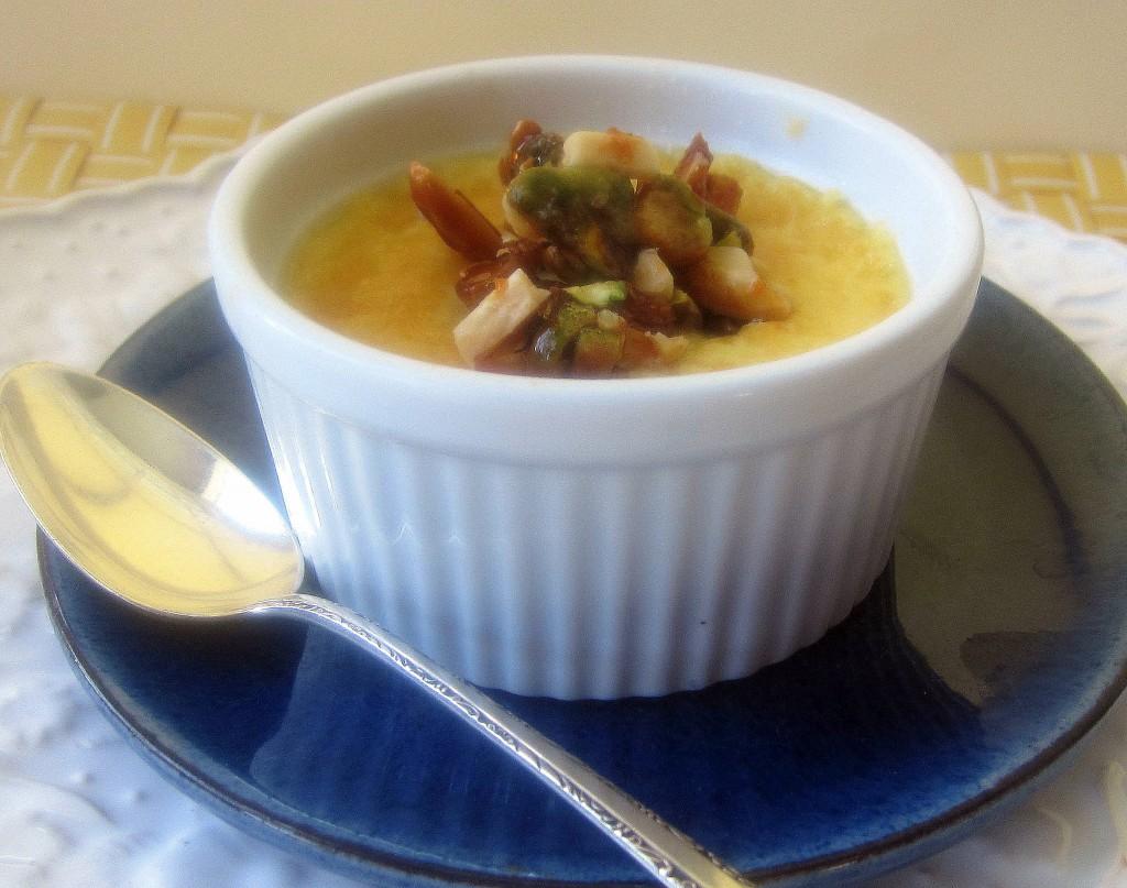 Creme Brulee Almond Pistachio Brittle 1