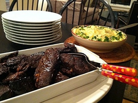 Barbecued Roasted Beef Short Ribs 1
