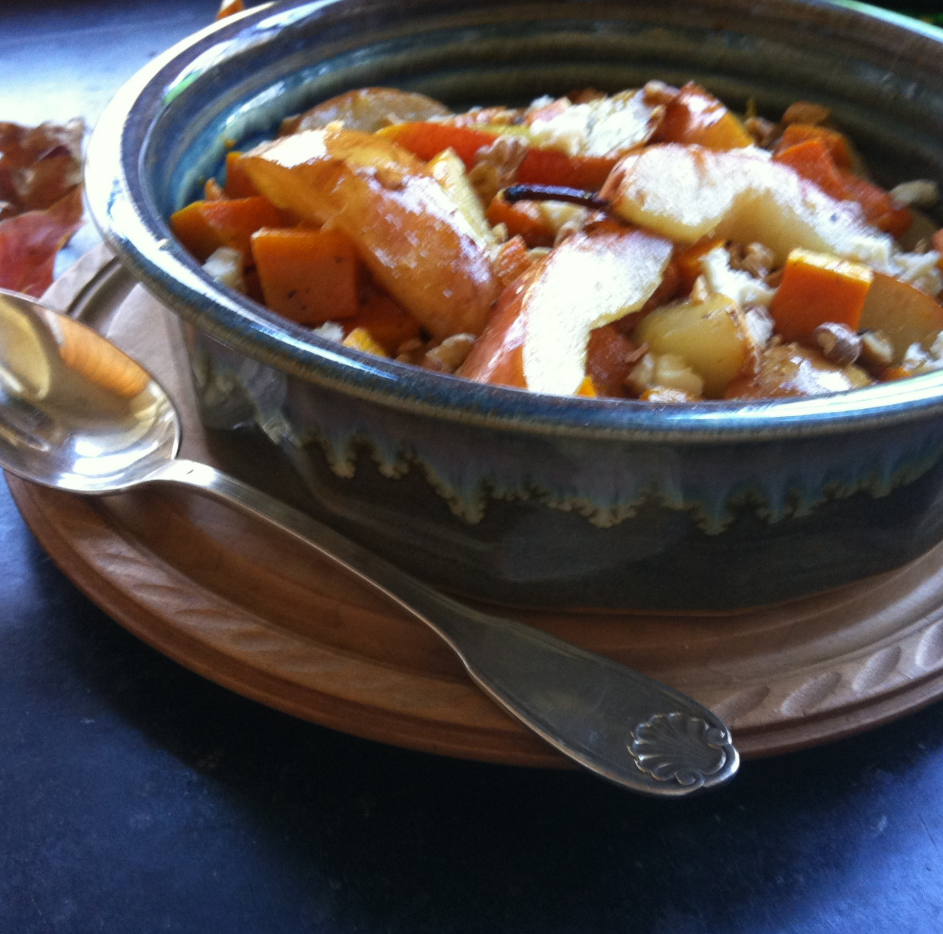 Roasted Butternut Squash and Pears 1