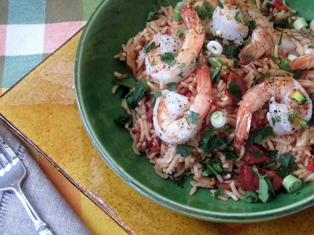Shrimp and Andouille Sausage Jambalaya 1