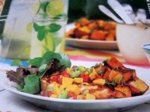 Grilled Chicken with Mango, Tomato, Lime Salsa 1 1824x1368