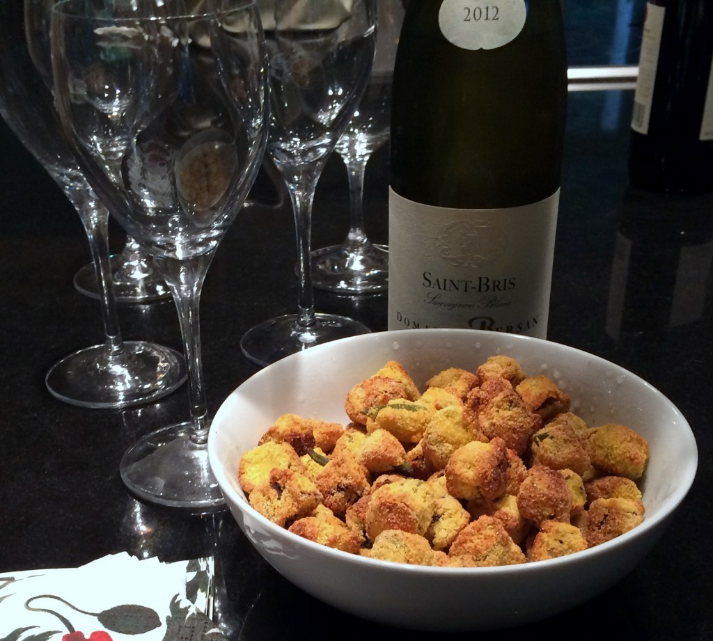 Fried Okra with Chilled White Wine 1896x1707