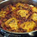 Skillet photo Fall Ragu of Chicken and Chanterelles  1824x1368