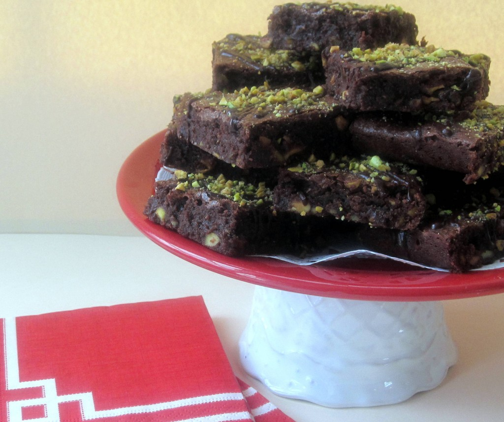 Dark Chocolate Pistachio and Orange Brownies 3 3194x2676