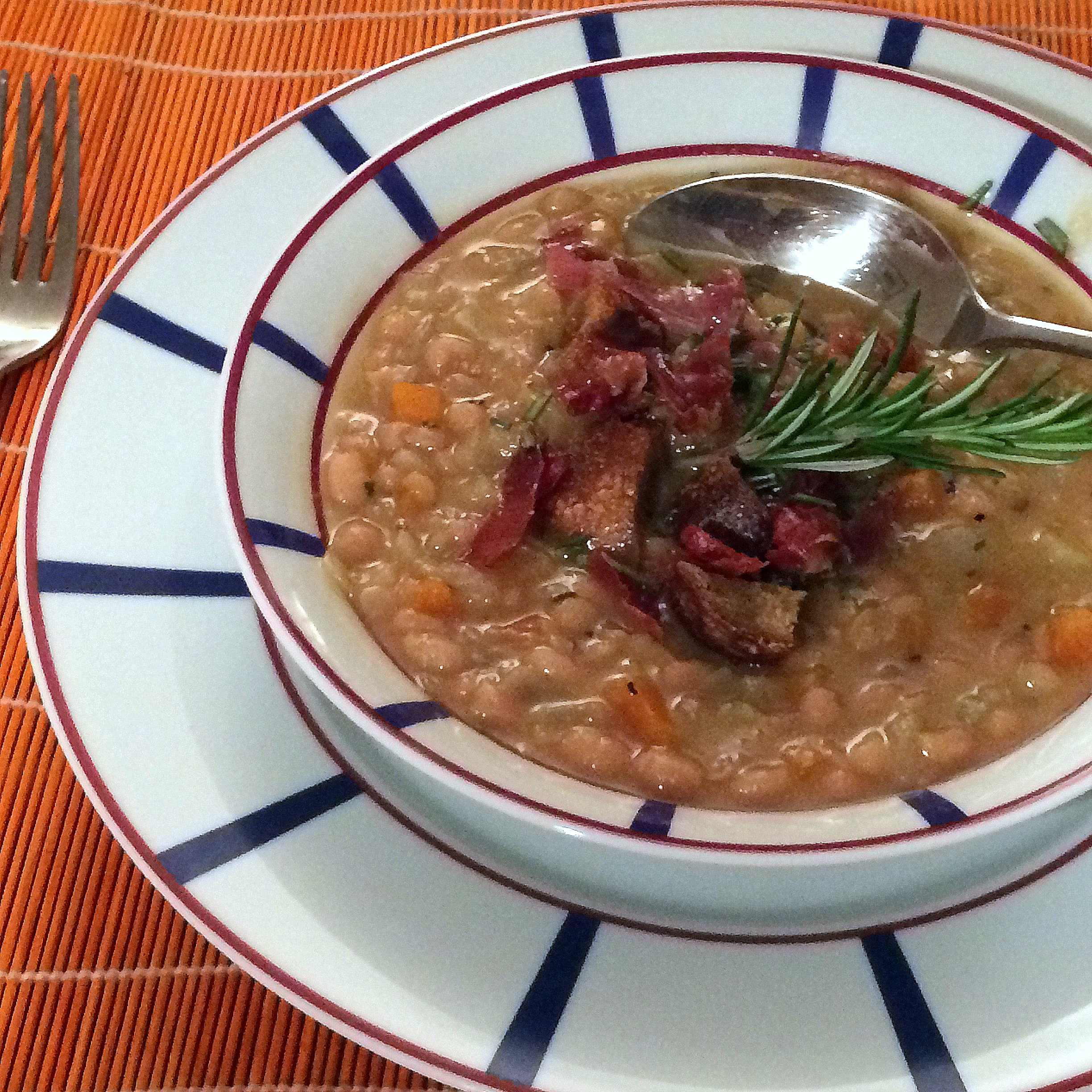Fennel and White Bean Soup with Prosciutto 1 2448x2448