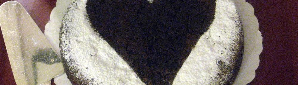 Valentine Dark Chocolate Cake 1