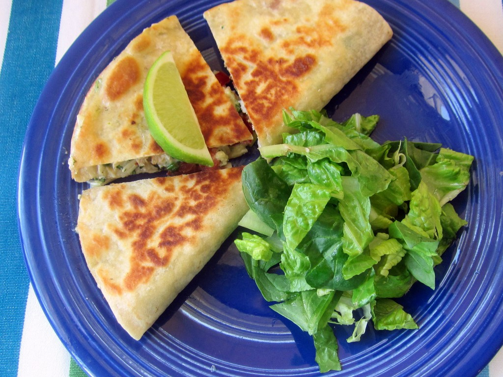 Crab and Tomato Quesadillas 1 3648x2736