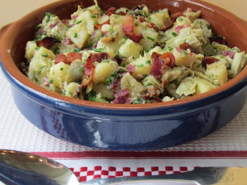 Potato Salad with Artichokes and Bacon 1 3648x2736