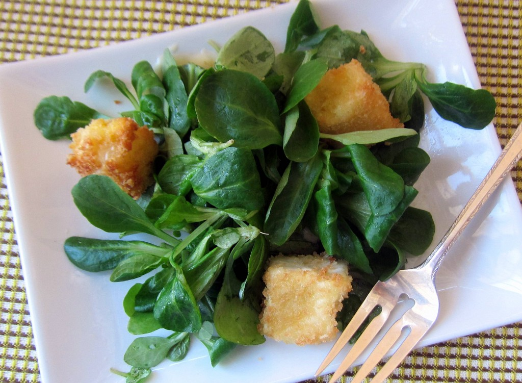 Mache Salad with Crispy Camembert Croutons 1 3490x2560 3490x2560