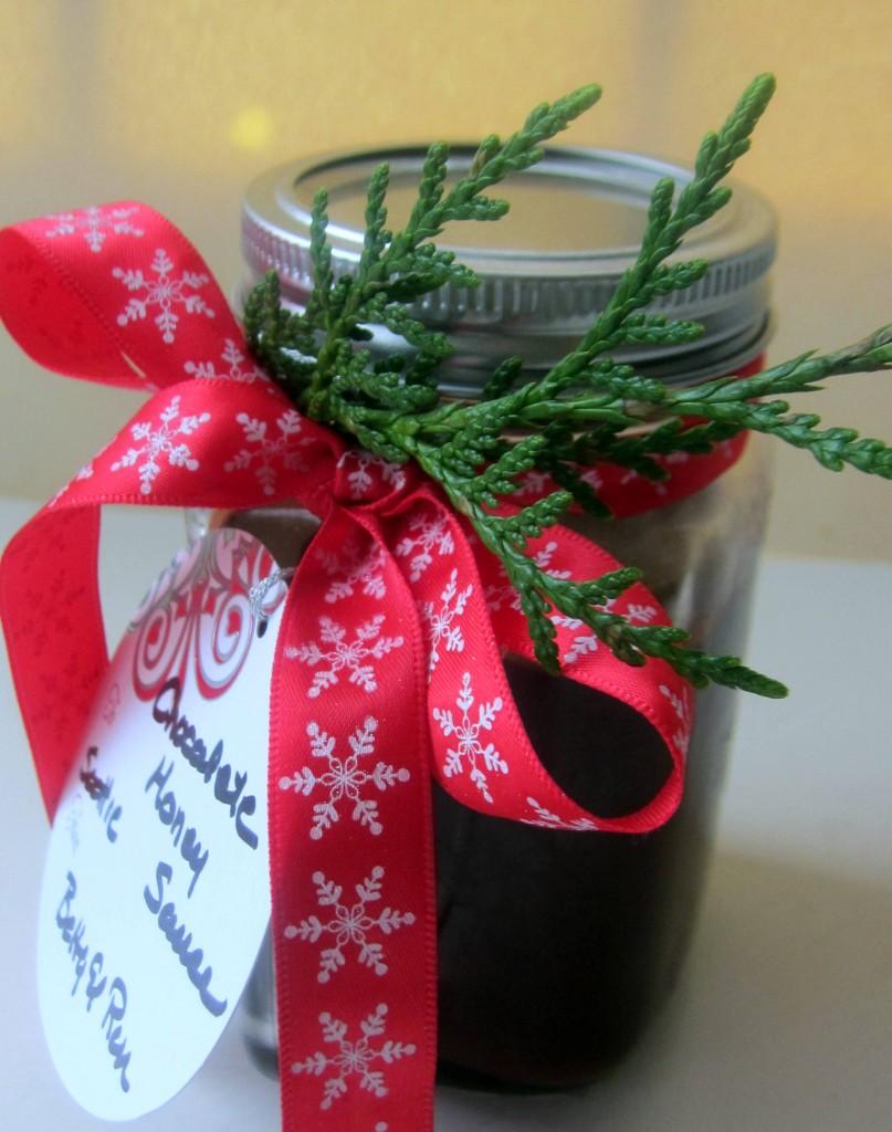 Chocolate Honey Sauce with Fleur de Sel