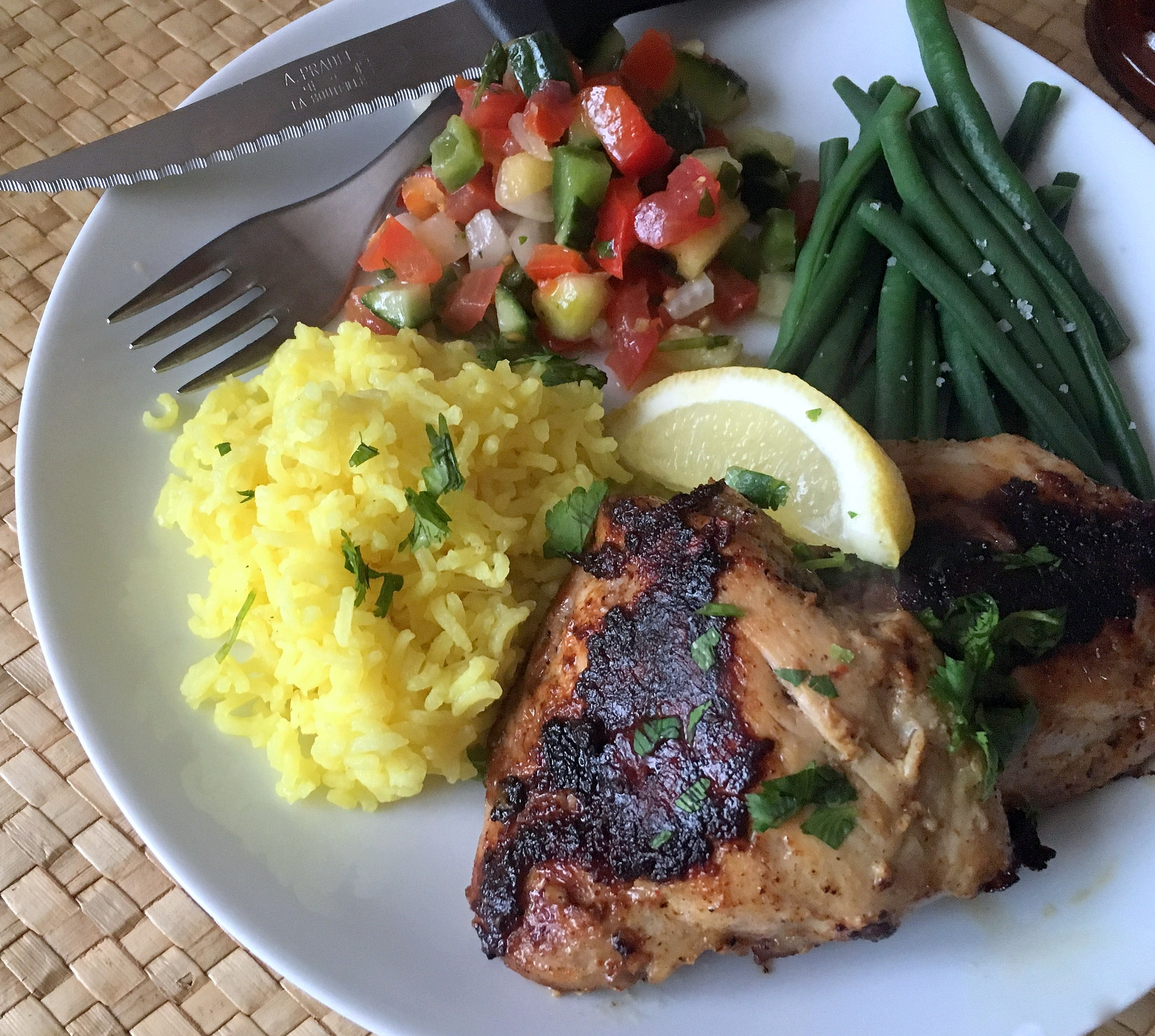 Tandoori Style Grilled Chicken for July 4th! | Betty Rosbottom