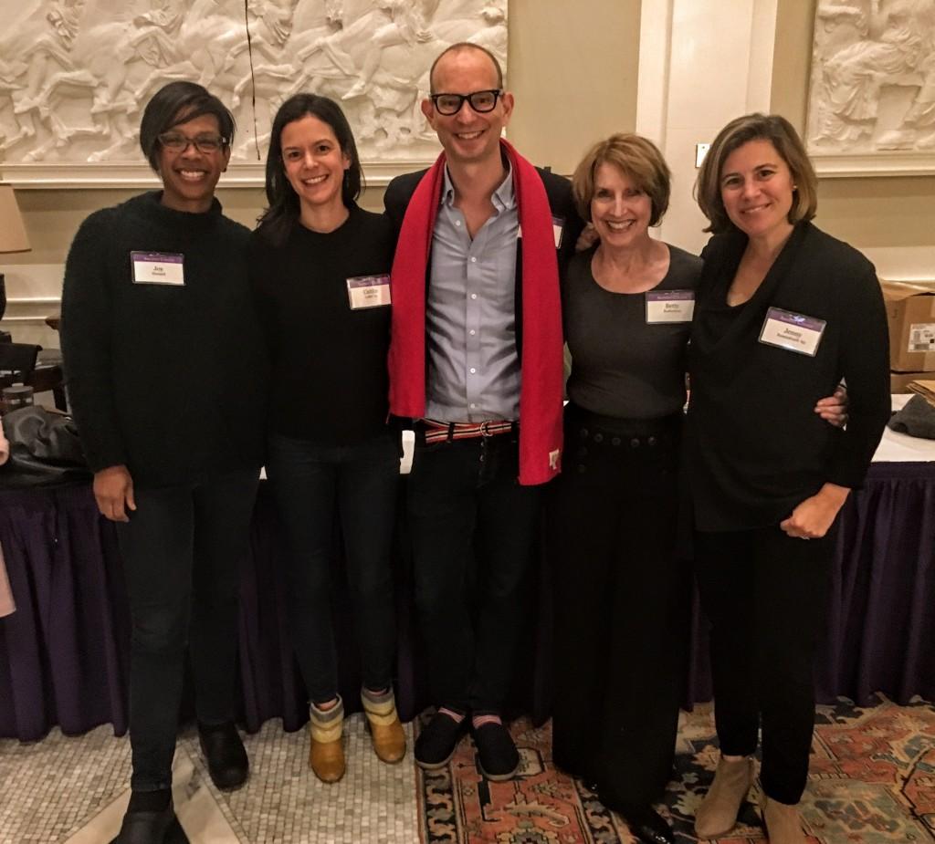 Panelists--Joy Howard, Caitlin Leffel, Ted Lee, Betty Rosbottom, and Jenny Rosenstrach