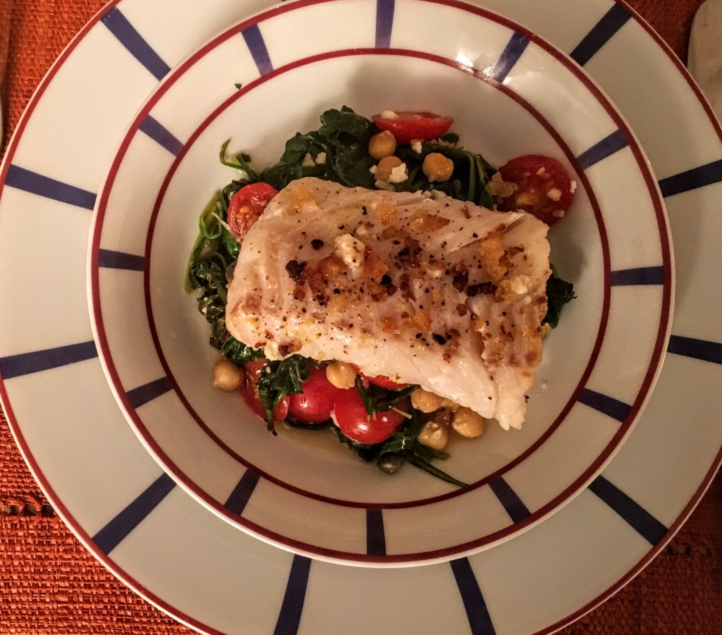 ibaked-cod-on-a-bed-of-spinach-tomatoes-chickpeas