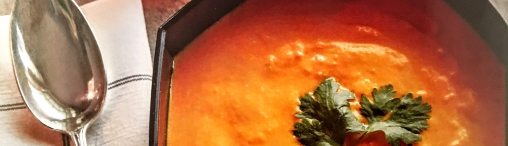 Warm or Cool Carrot Soup with Coconut and Lime