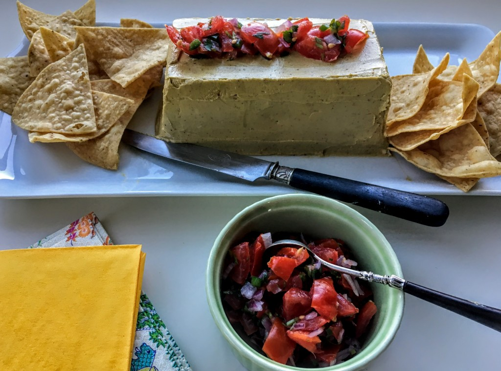 Avocado Pate with Pico de Gallo and Tortilla Chips